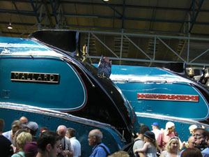 7 July 2013. National Railway Museum, York. Special reunion event. Record-breaking